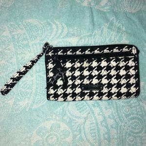 Vera Bradley Houndstooth Wristlet Wallet